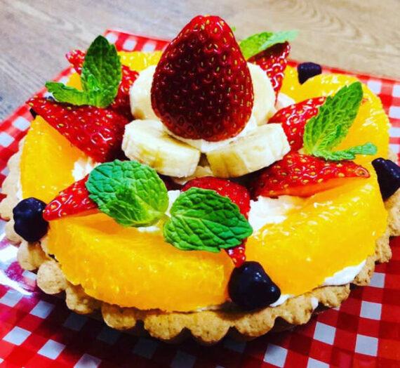 いちごDeレアチーズケーキ