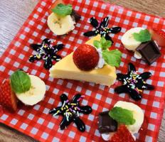 いちごDeチーズケーキ
